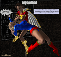 Mary Marvel Gone Mad by LordSnot