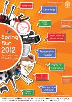 Spring Fest Event Poster by Basolian