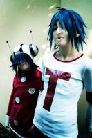 GoRiLLaZ Cosplay 214 Noodle 2D by Hikarulein