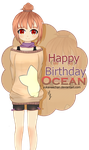Happy Birthday OceanTaan o/ by YukaNeeChan
