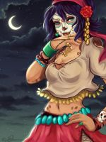 Awilix Skin: Night of the Dead by Failmuffin01