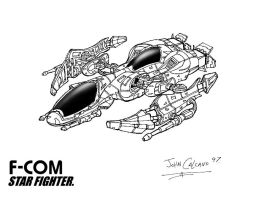 F-COM Star Fighter Final. by Atariboy2600
