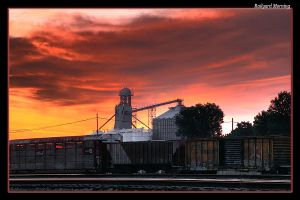 Railyard Morning by boron