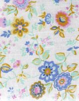 flower fabric by CatBeluxe