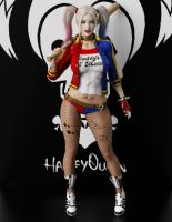 Suicide Squad Harley Quinn G2F Update ! by guhzcoituz