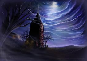 -Night Chapel- by dadoundy