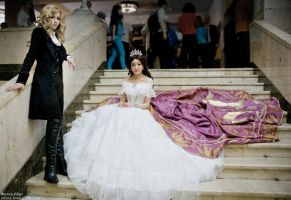 Der Tod and Elisabeth(cosplay) by Sparkleman