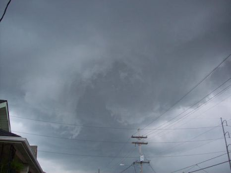Wall Cloud Rotating by DraftHorseTrainer