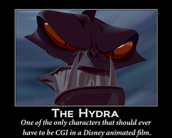 Hydra motivational poster by ToonEGuy