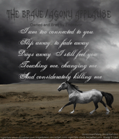 The Bravery  Agony Applause by DominosAreFalling