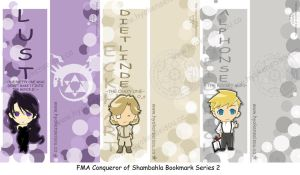 FMA Bookmark Series 2 by Hyokenseisou