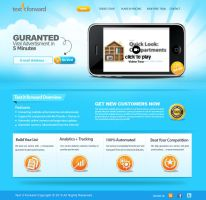 Text it forward Home page by creations-ad