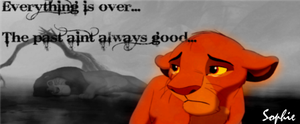 Simba Crying Signature :( by SophieTheVampire