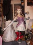 life size zelda assembly before shipping by minidelirium