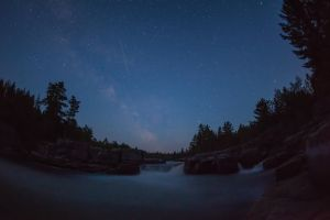 Pabineau Falls under the Stars 2013 by PascalsPhotography