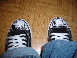 my shool shoes xD by fanatyczka-manga