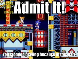 First Sonic Rage Quit by AlphaMoxley95