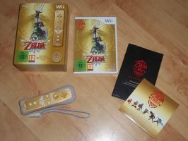 Zelda Skyward Sworld by extraphotos