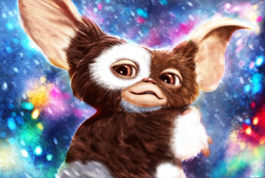 Gremlins - Gizmo by p1xer