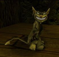 The Cheshire Cat by lilelfgrl