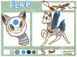 Flap! The Finnedyr! by Astrumia