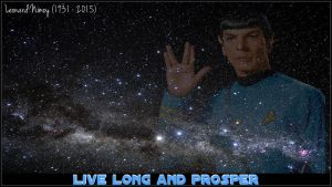 Live long and prosper Spock by Hazakimoonphase
