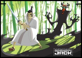 SAMURAI JACK by Martigalaxy