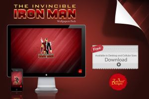 The Invincible Iron Man / Tony Stark by Zat3am