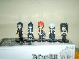 My figures of D gray man by haruhi-nyu