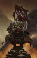 Orc Warlord by Warmics