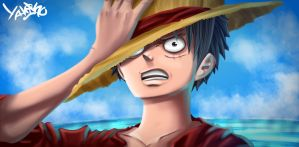 Monkey D. Luffy by Yahik0