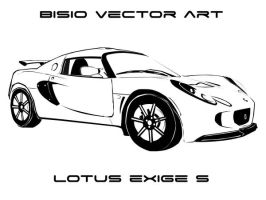 Lotus exige vector by bisiobisio