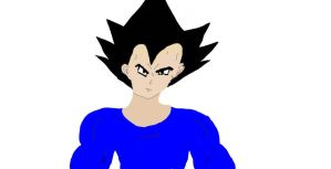 Vegeta with new tablet by neice1176