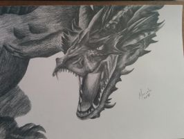 Smaug The Magnificent by Kerveros540