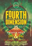 Fourth Dimension Poster Template by Grydster