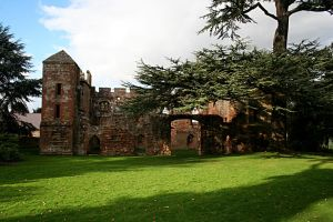 Acton Burnell Castle 2 by GothicBohemianStock