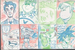 Sketchcard Set 7.2 by nellucnhoj