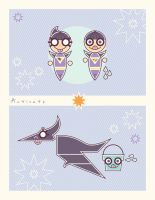 The Wonder Twins: Form of Sugary Sweetness by daabcreative