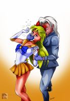 Sailor Venus Chloroformed by sleepy-comics