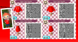 Basic Red Hoodie by GumballQR