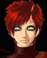 Gaara by spinelquartz