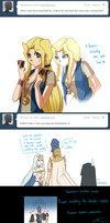 Tumblr Ask: Nefis and Sam 1 by Yamineftis