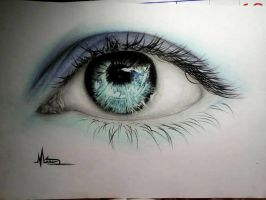Blue eye by manarATS