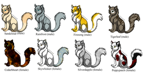 Warrior Cat Names That Start With Dawn
