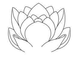 Lotus lineart by raskk