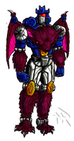 Beast Wars style G1 Soundwave by Superbdude1