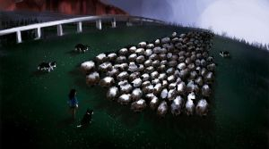 SheepCamp by rlanghi