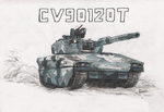 Lavina the CV90120-T by Hydrothrax