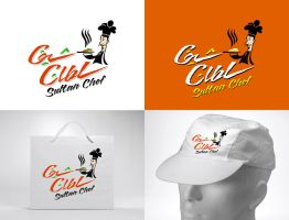 Sultan Chef logo by GHAREB