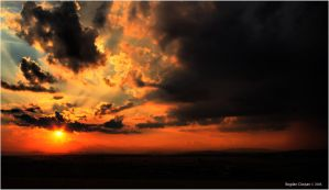 burning in the sky by seraphRo